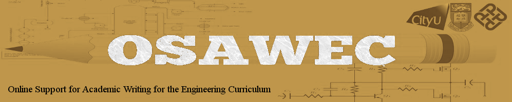 Online Support for Academic Writing for the Engineering Curriculum